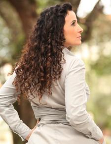 Nossa cliente Anajara com mega Hair