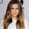 Khloe Kardashian com Tortoiseshell Hair