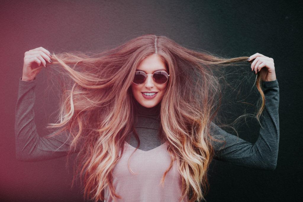 Megahair com ombre hair
